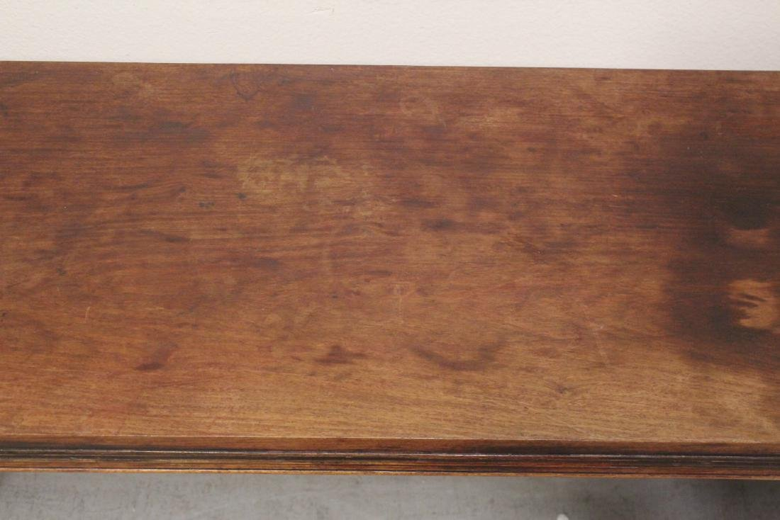 Chinese rosewood side table - 7