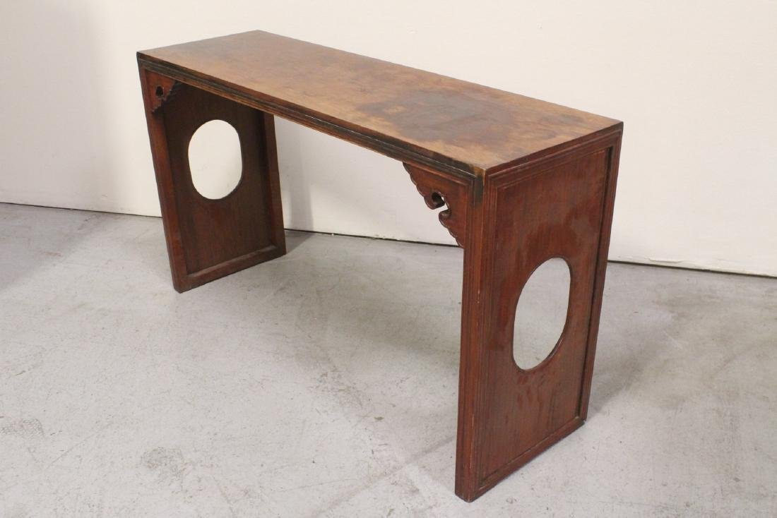 Chinese rosewood side table - 8