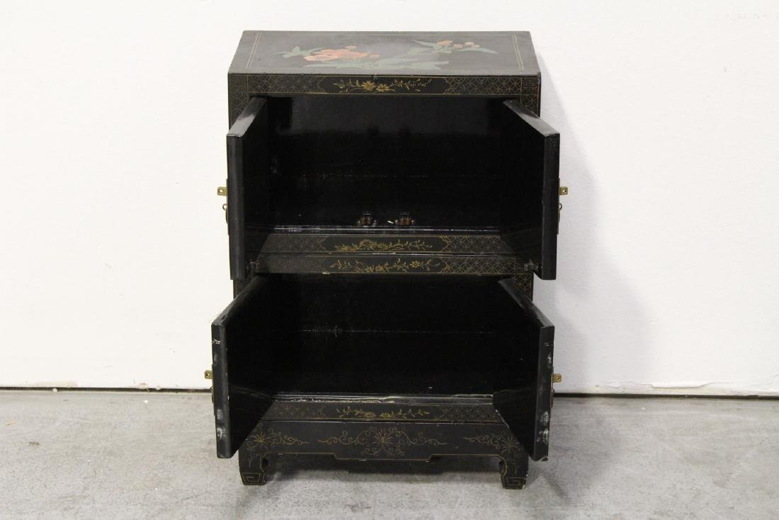 2 miniature lacquer cabinet with stand - 3
