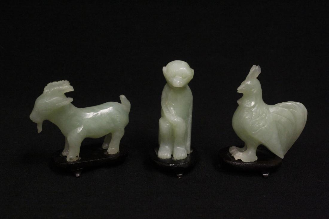 12 serpentine carved zodiac - 5