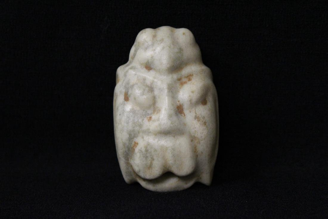 3 jade carved ornaments in animal motif - 8