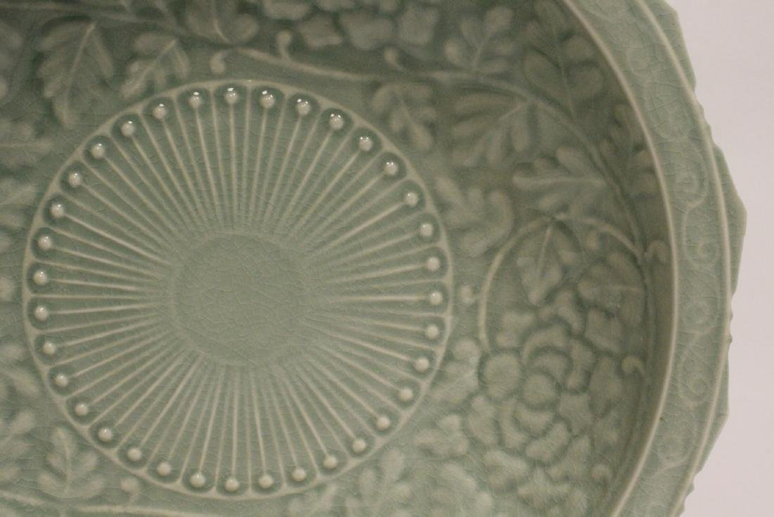 Large celadon bowl - 4