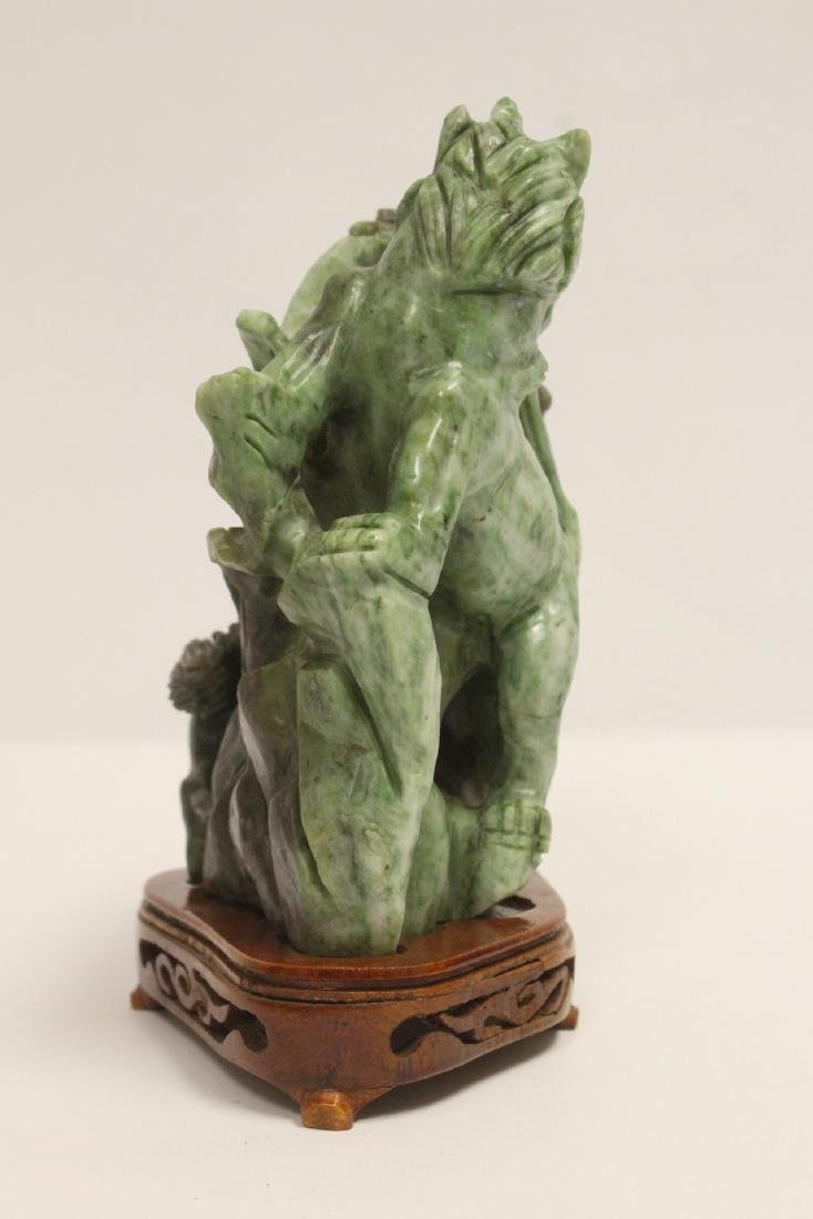 Jade carved qilin - 2
