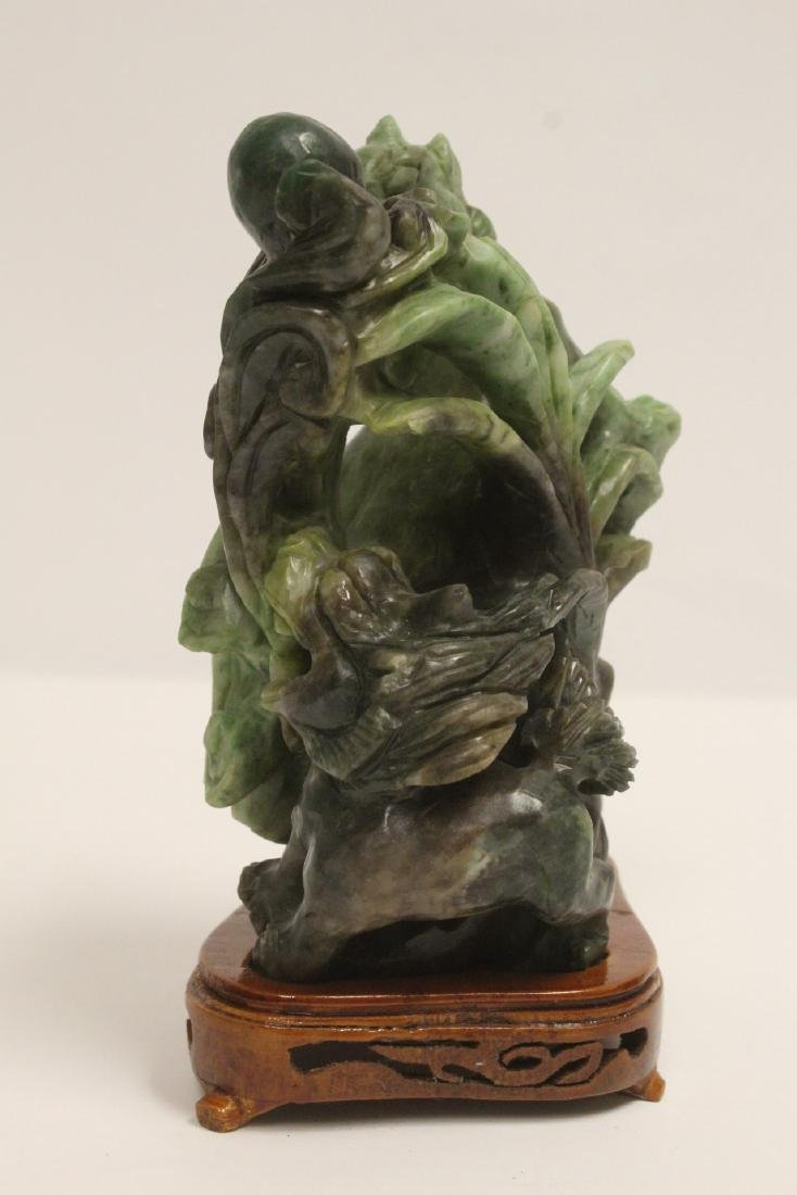 Jade carved qilin - 6