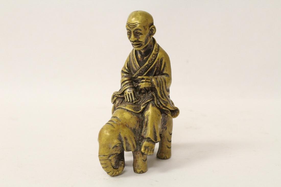 3 Chinese bronze items - 5