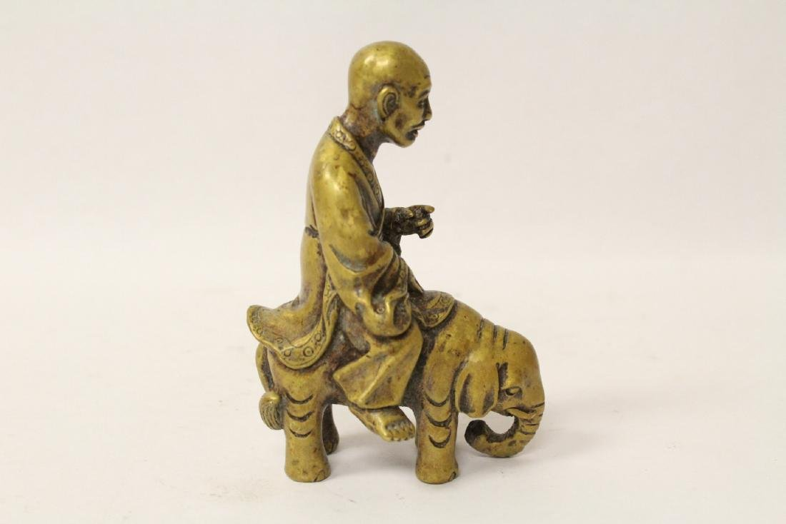 3 Chinese bronze items - 6
