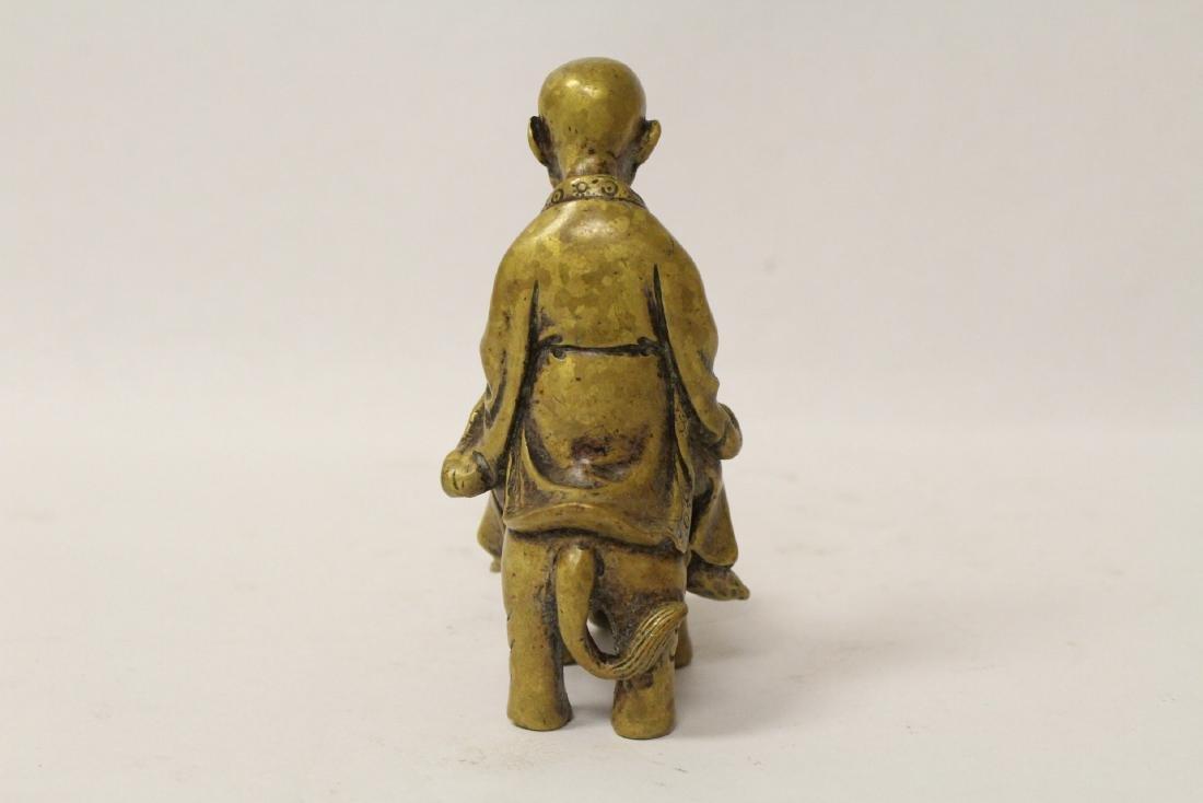3 Chinese bronze items - 7
