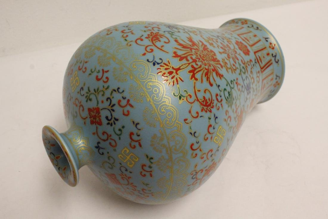 Chinese famille rose porcelain meiping - 10