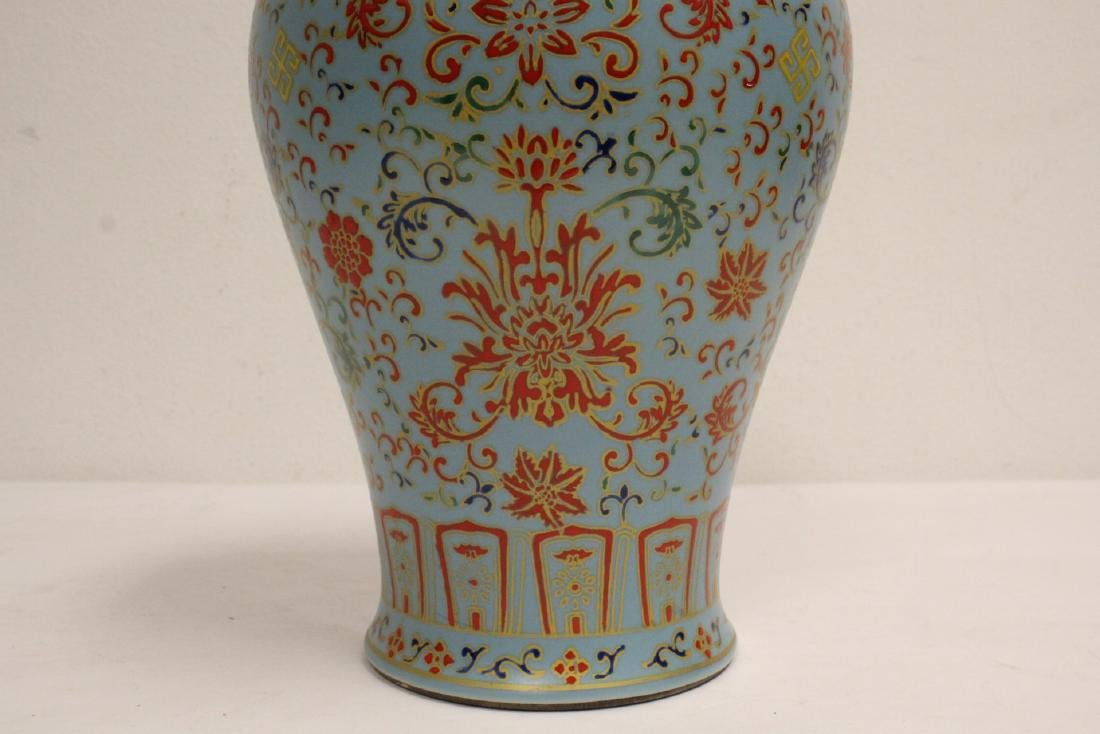 Chinese famille rose porcelain meiping - 7