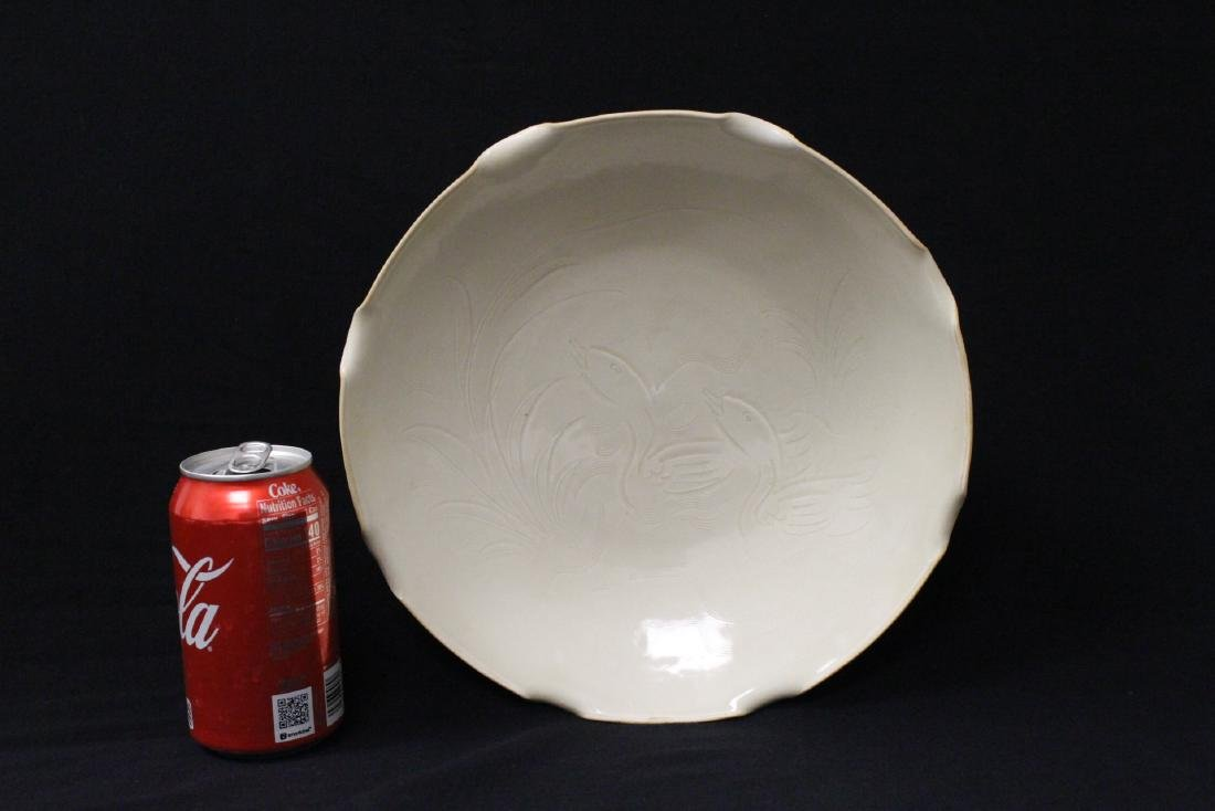 Song style white porcelain bowl - 2