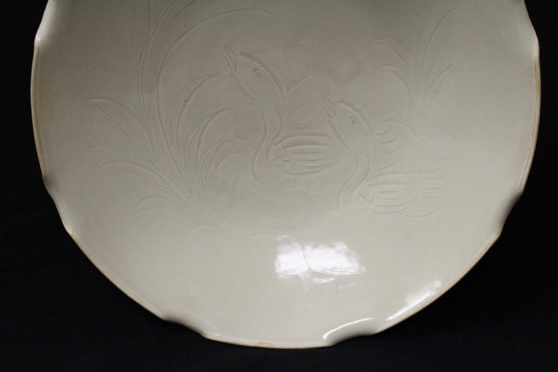 Song style white porcelain bowl - 4