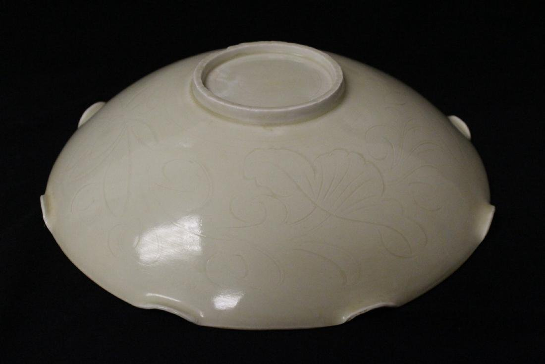 Song style white porcelain bowl - 9