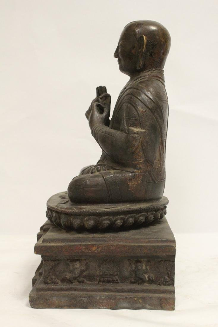 A very heavy Chinese bronze sculpture - 2