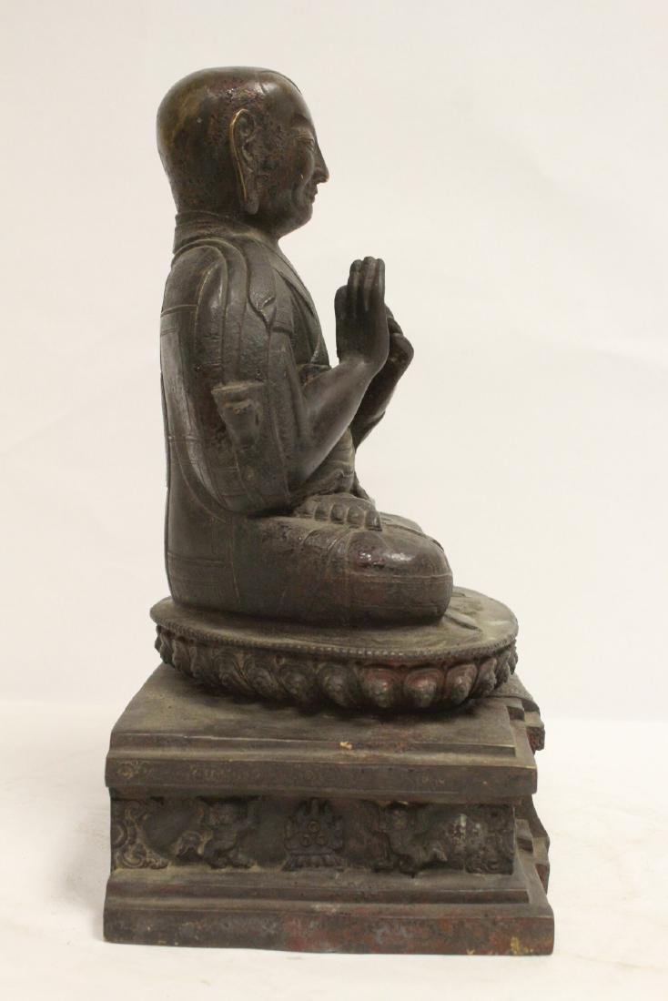 A very heavy Chinese bronze sculpture - 4