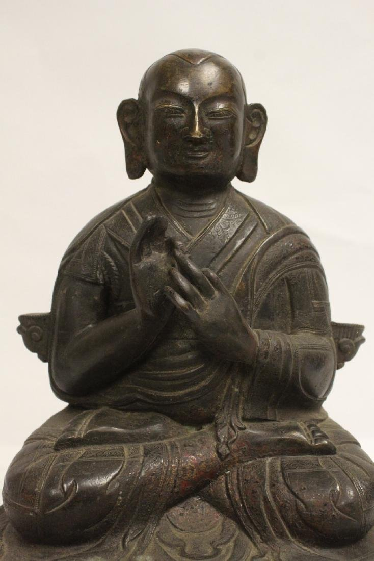 A very heavy Chinese bronze sculpture - 6