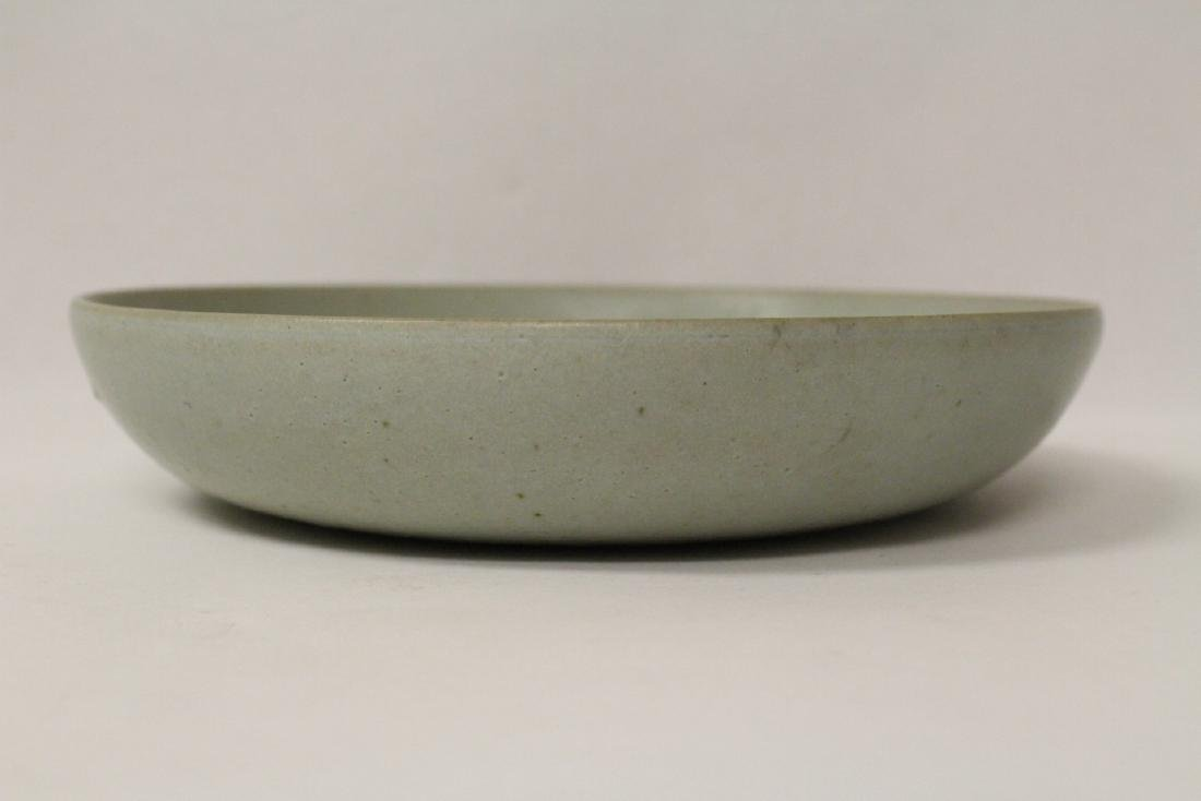 Song style celadon plate - 2