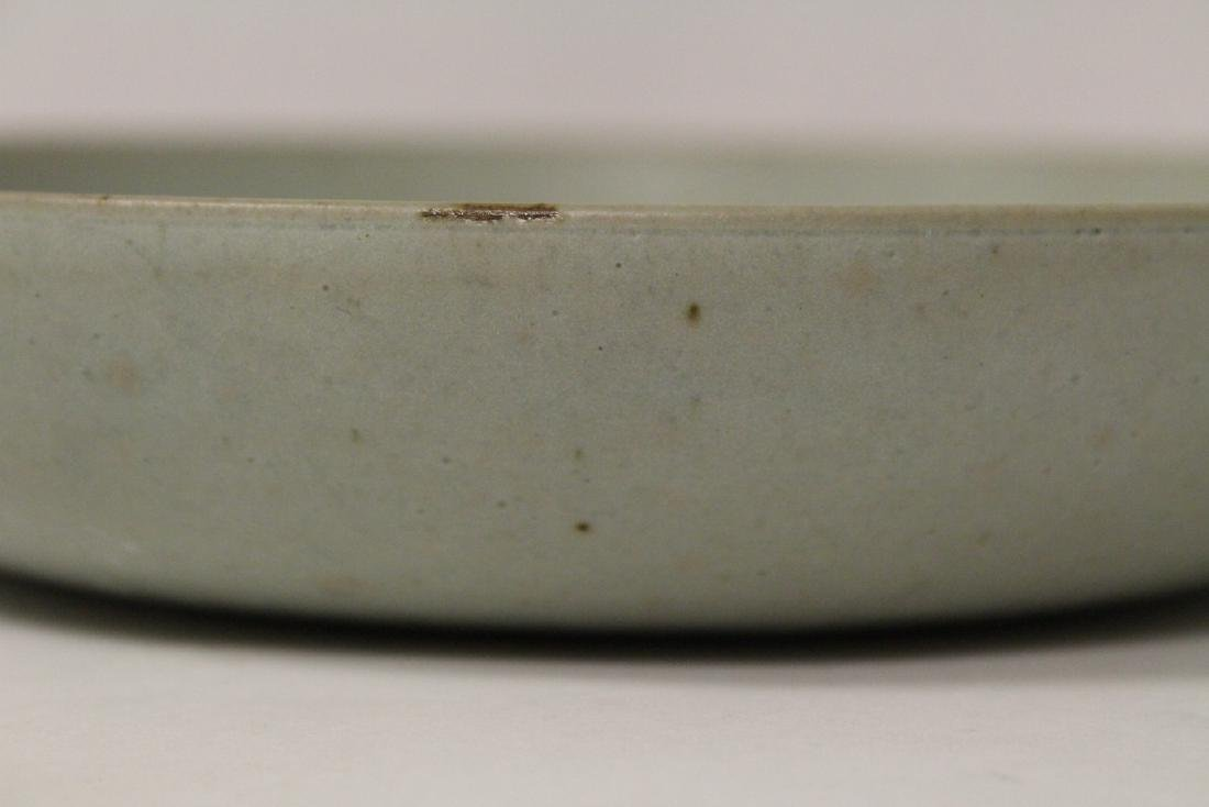 Song style celadon plate - 4