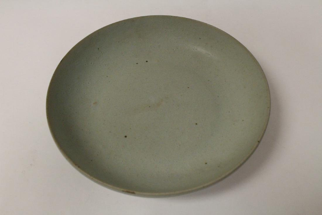 Song style celadon plate - 5