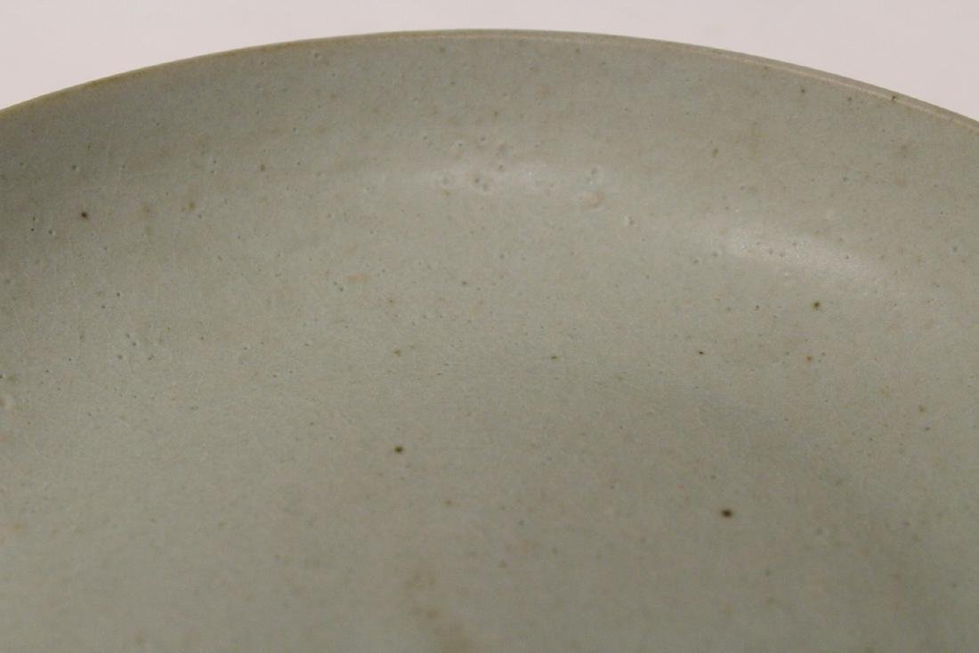 Song style celadon plate - 9