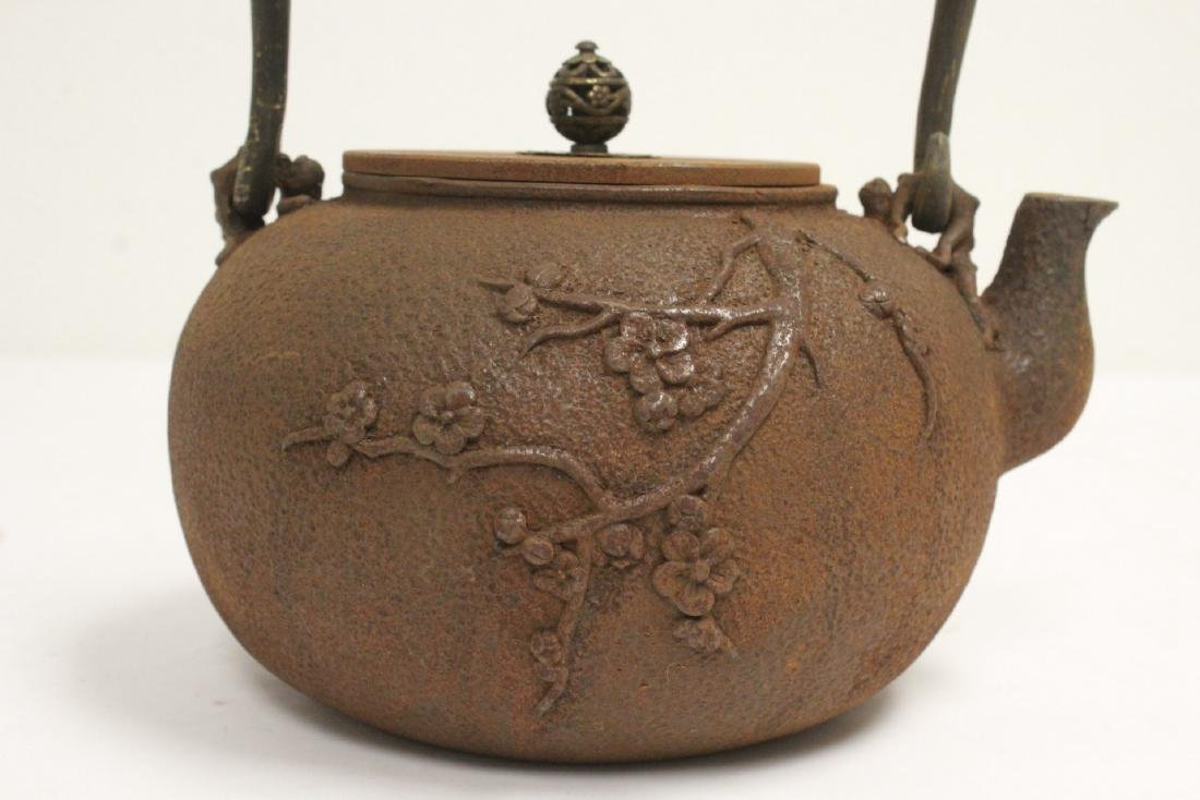 Cast iron teapot - 7