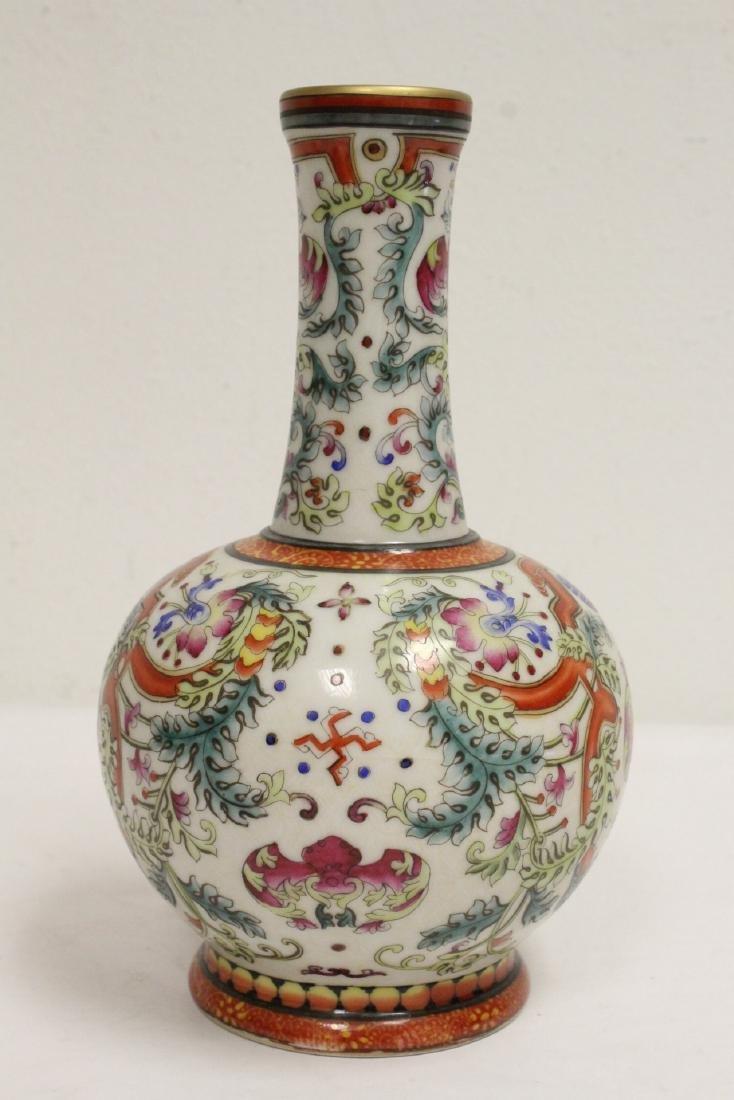 Chinese wucai porcelain vase - 2