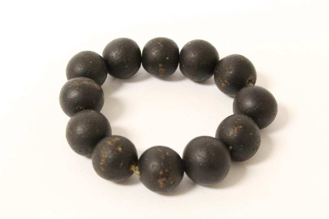 Possible chenxiang wood bead bracelet - 2