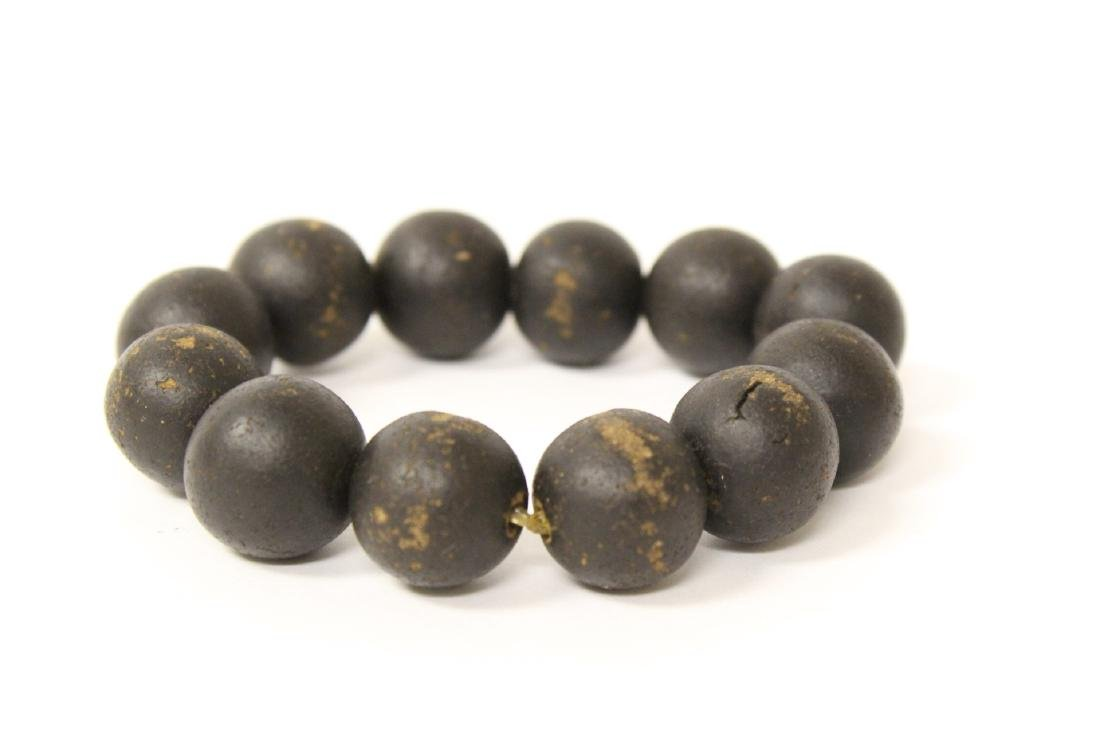 Possible chenxiang wood bead bracelet - 3