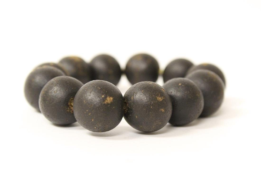 Possible chenxiang wood bead bracelet - 5