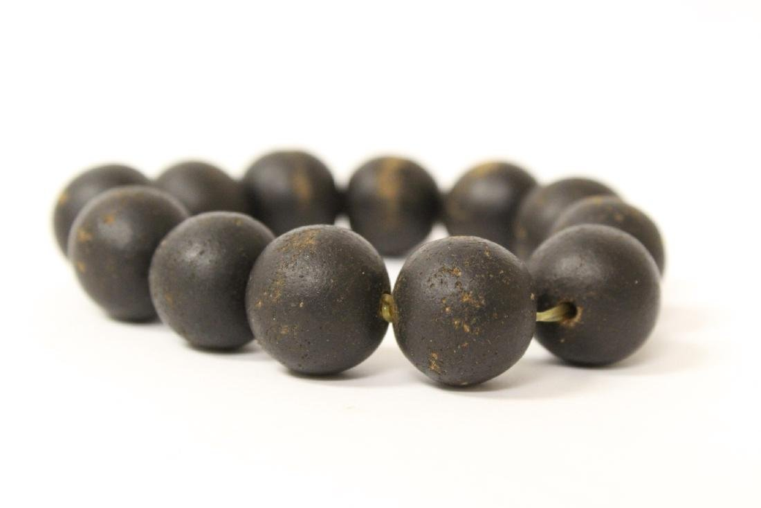 Possible chenxiang wood bead bracelet - 6