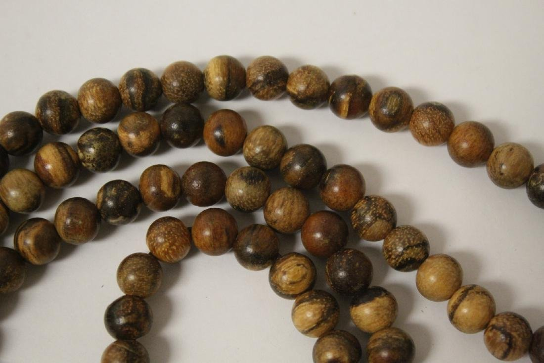 2 wood bead necklaces - 9