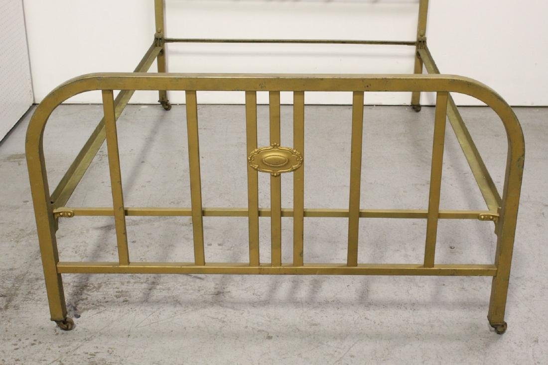 2 set of Victorian cast iron bed frames - 3
