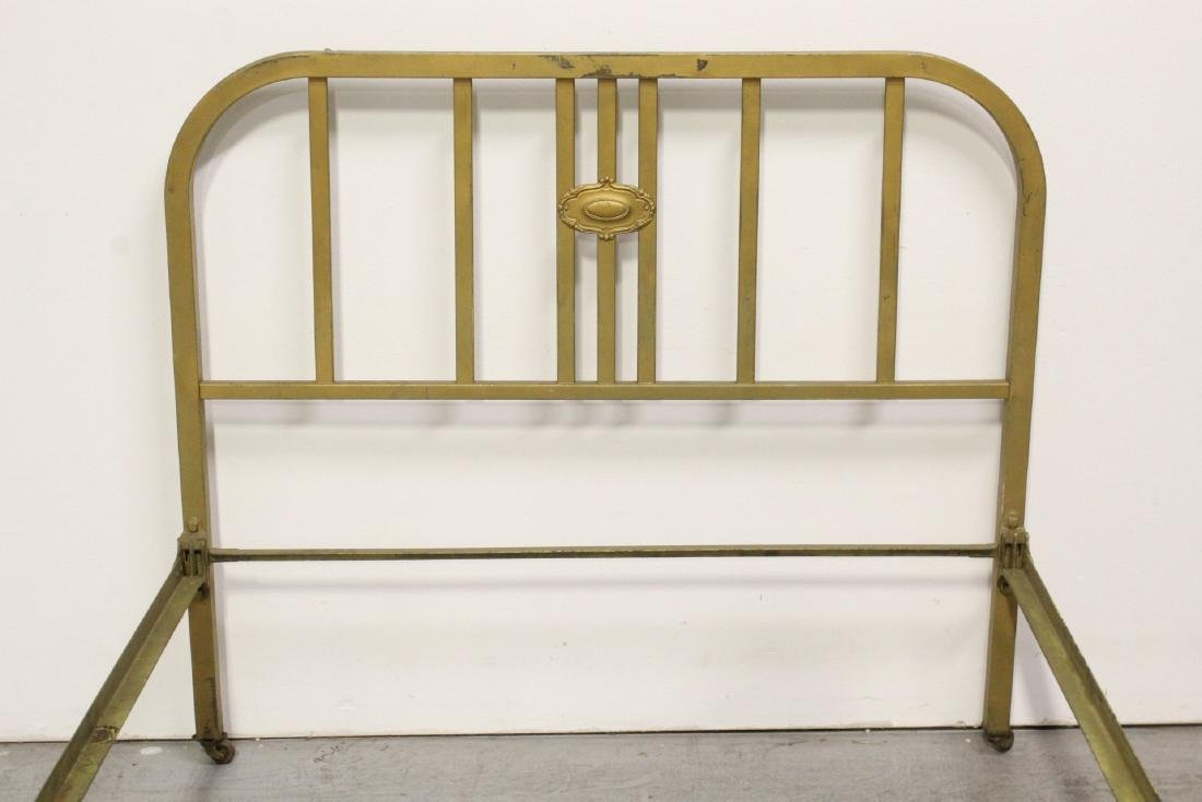 2 set of Victorian cast iron bed frames - 4