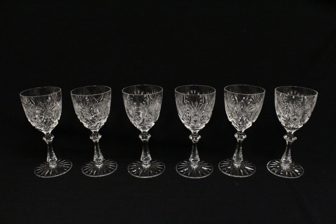 Approx. 39 pieces crystal wine goblet set - 2