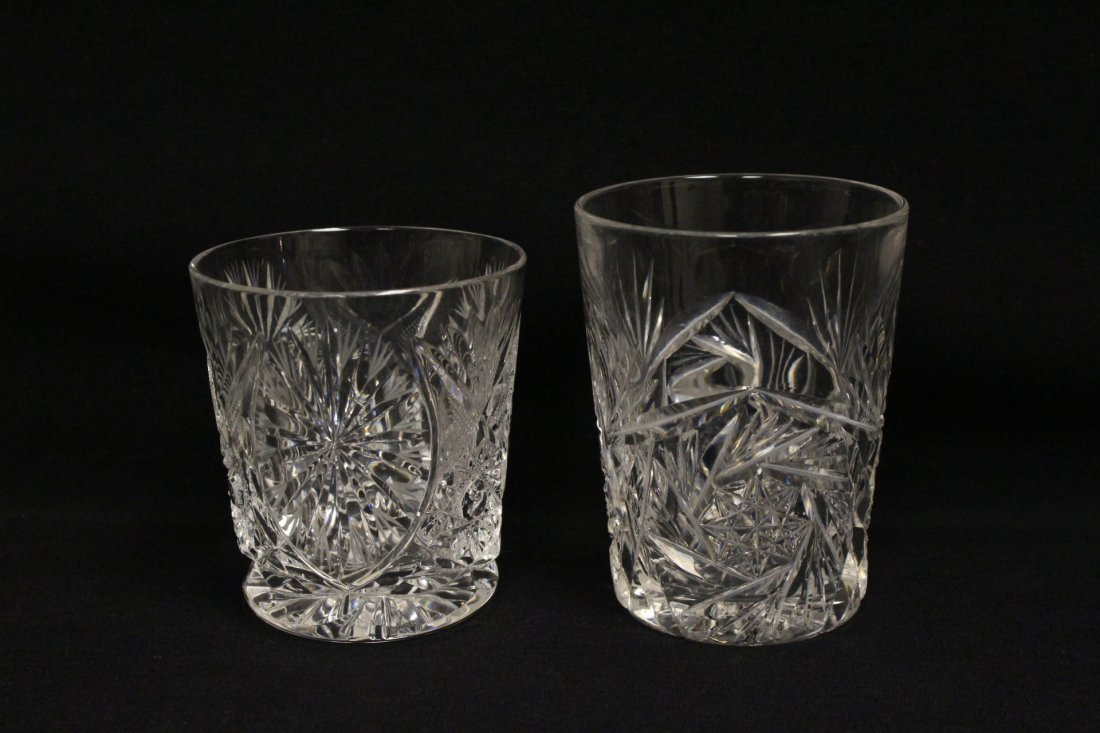 Approx. 39 pieces crystal wine goblet set - 5