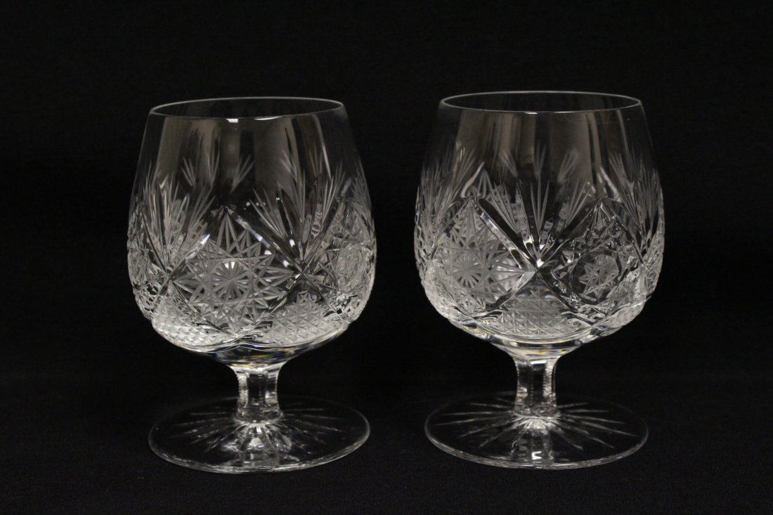Approx. 39 pieces crystal wine goblet set - 7