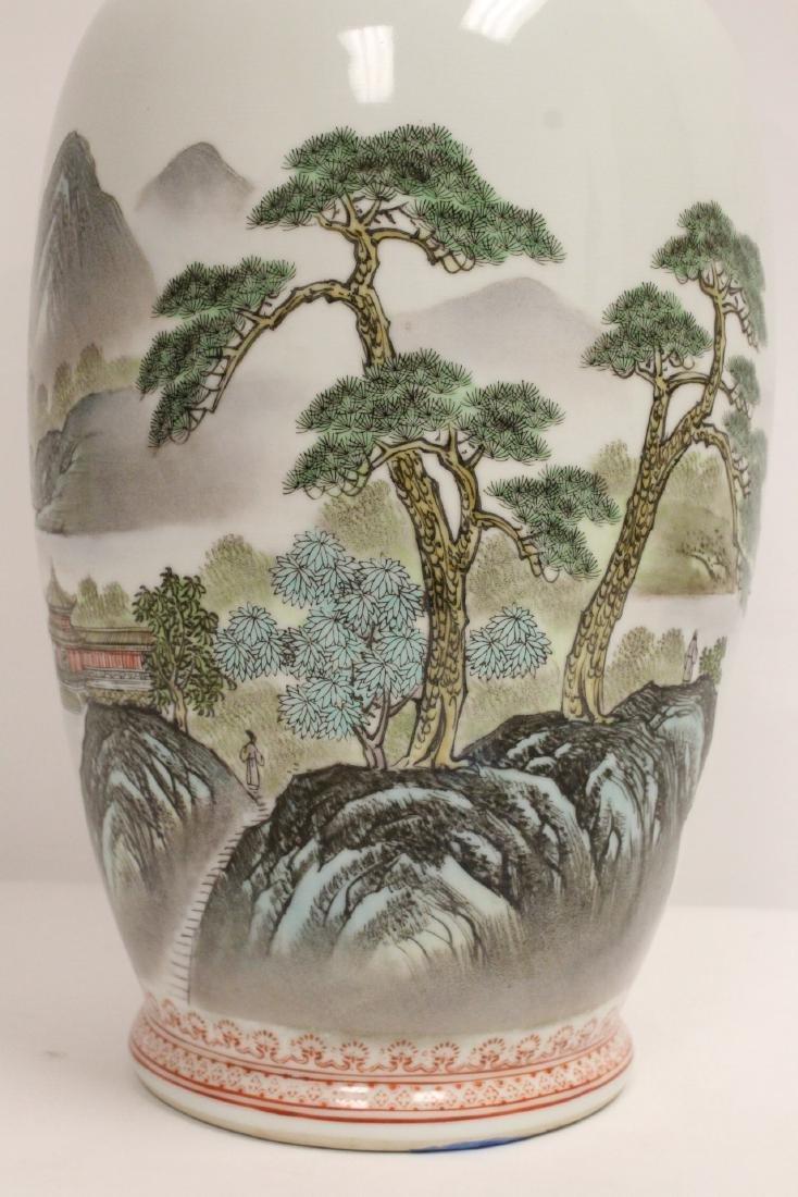 Chinese famille rose porcelain jar - 7