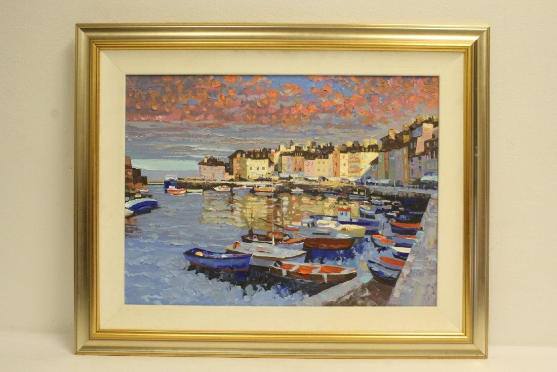 Oil on canvas painting by Howard Behrens