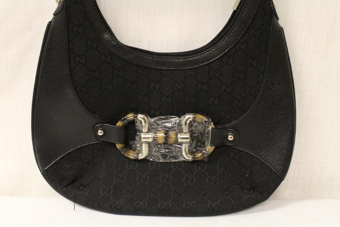 A Louis Vuitton style purse, and a Gucci style bag - 3