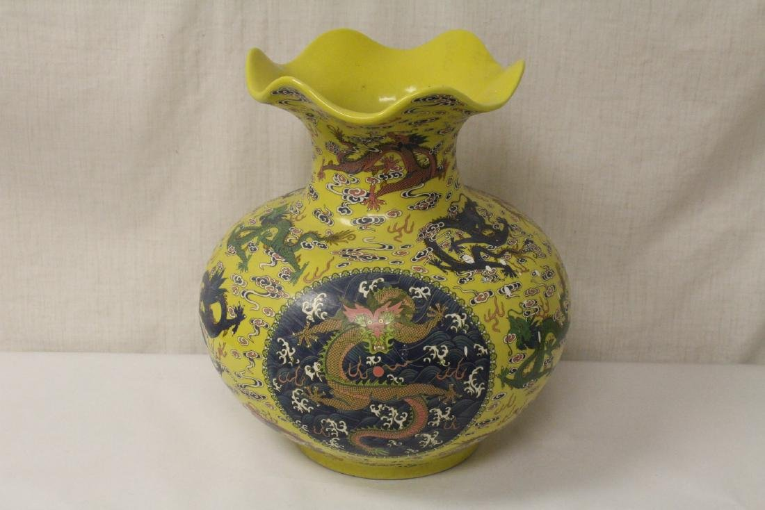 A large famille rose porcelain jar