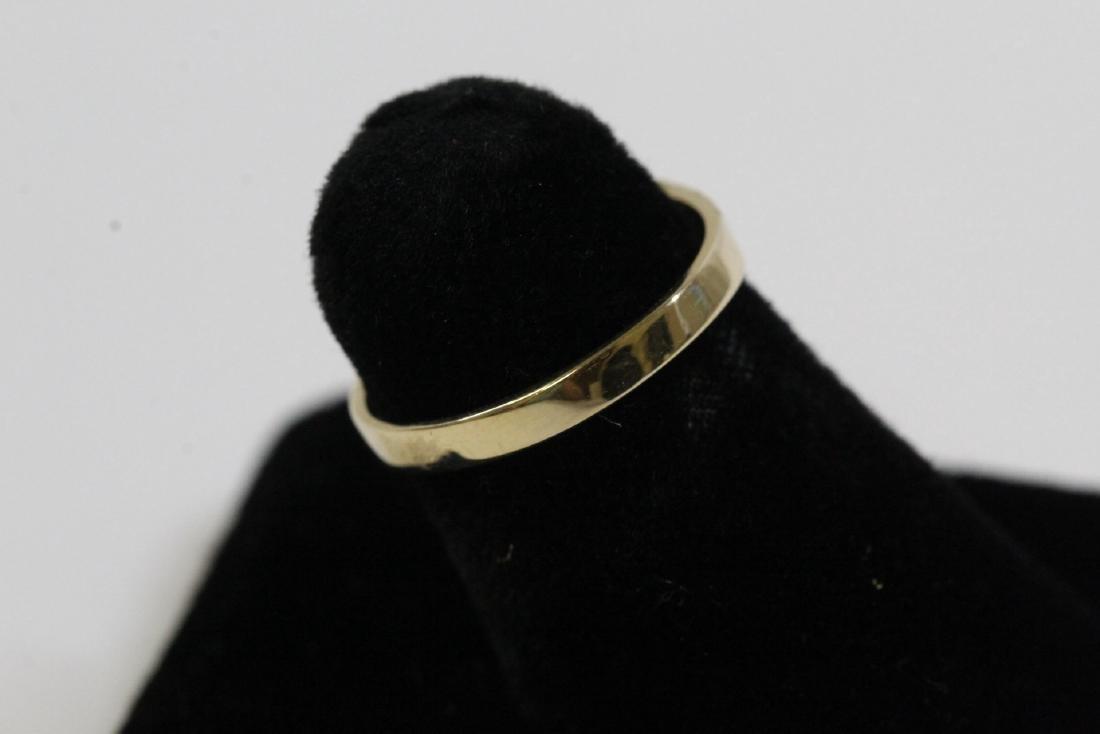 14K Y/G diamond ring - 5