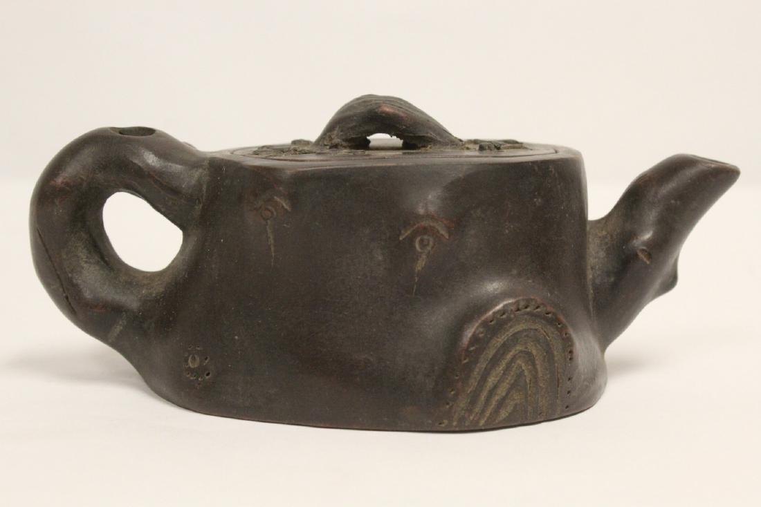 A fancy Yixing teapot - 3