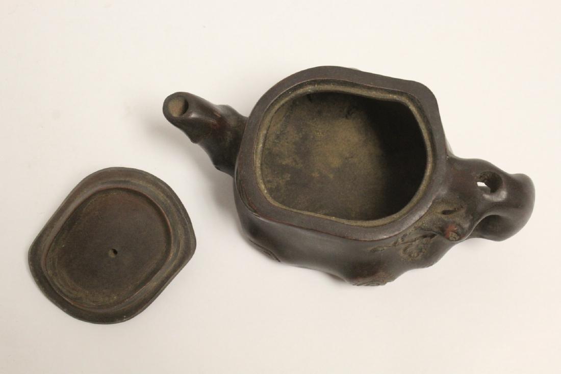 A fancy Yixing teapot - 8