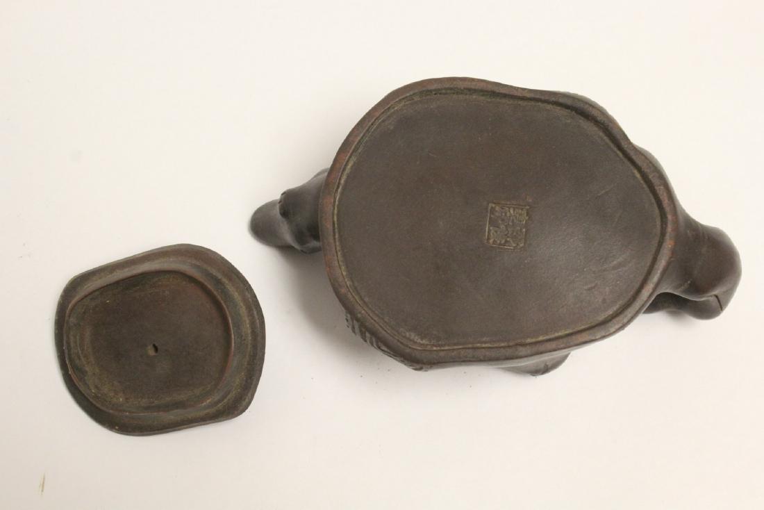 A fancy Yixing teapot - 9
