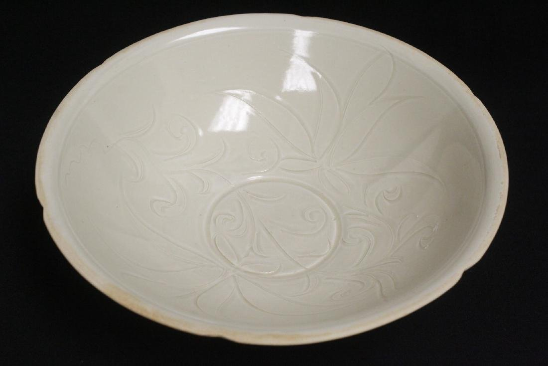 A Song style white porcelain bowl - 10