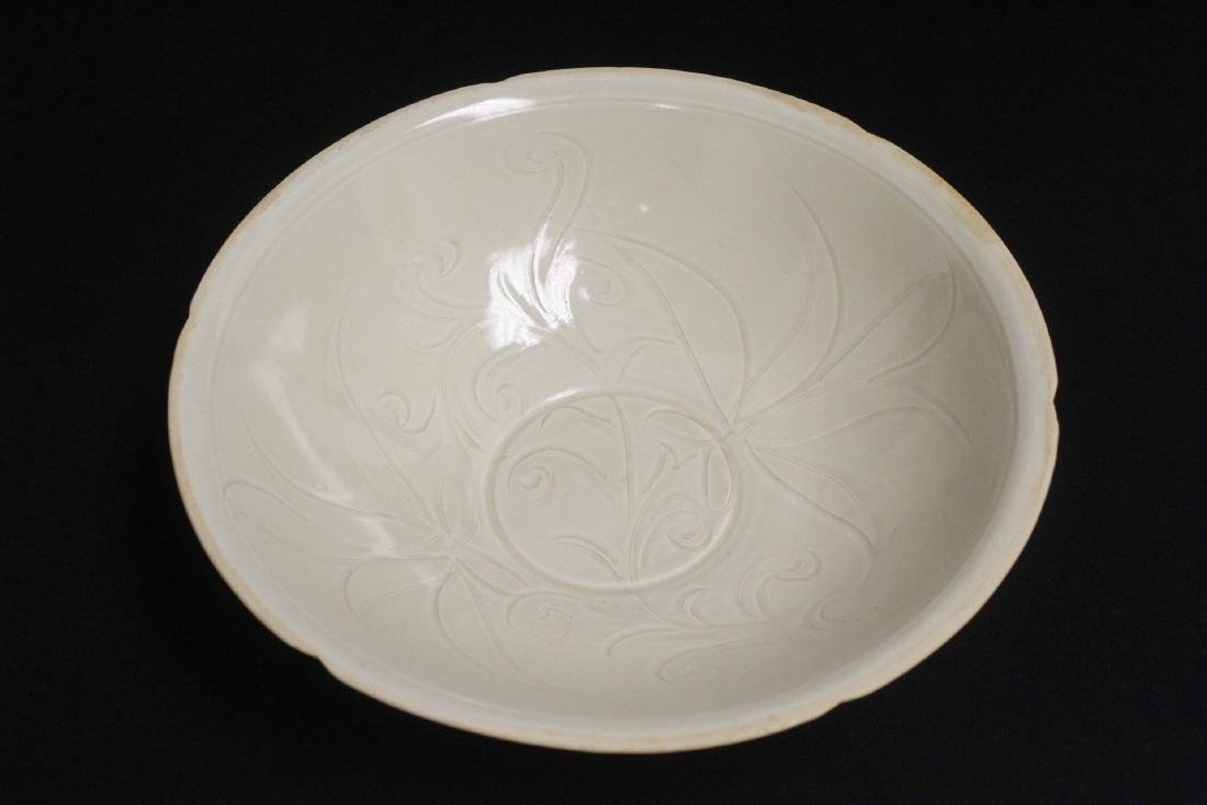A Song style white porcelain bowl
