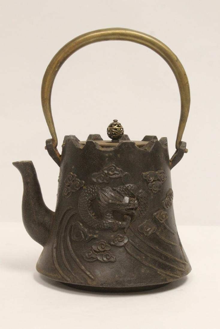 Chinese cast iron teapot