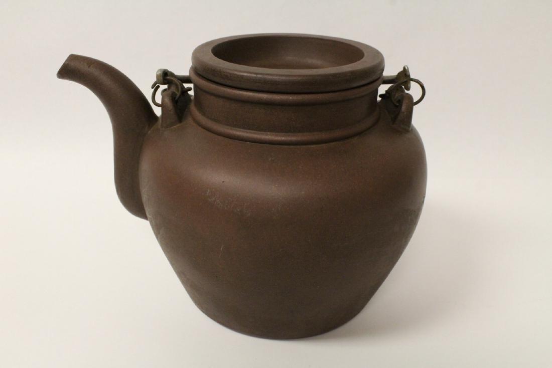 Chinese large Yixing teapot