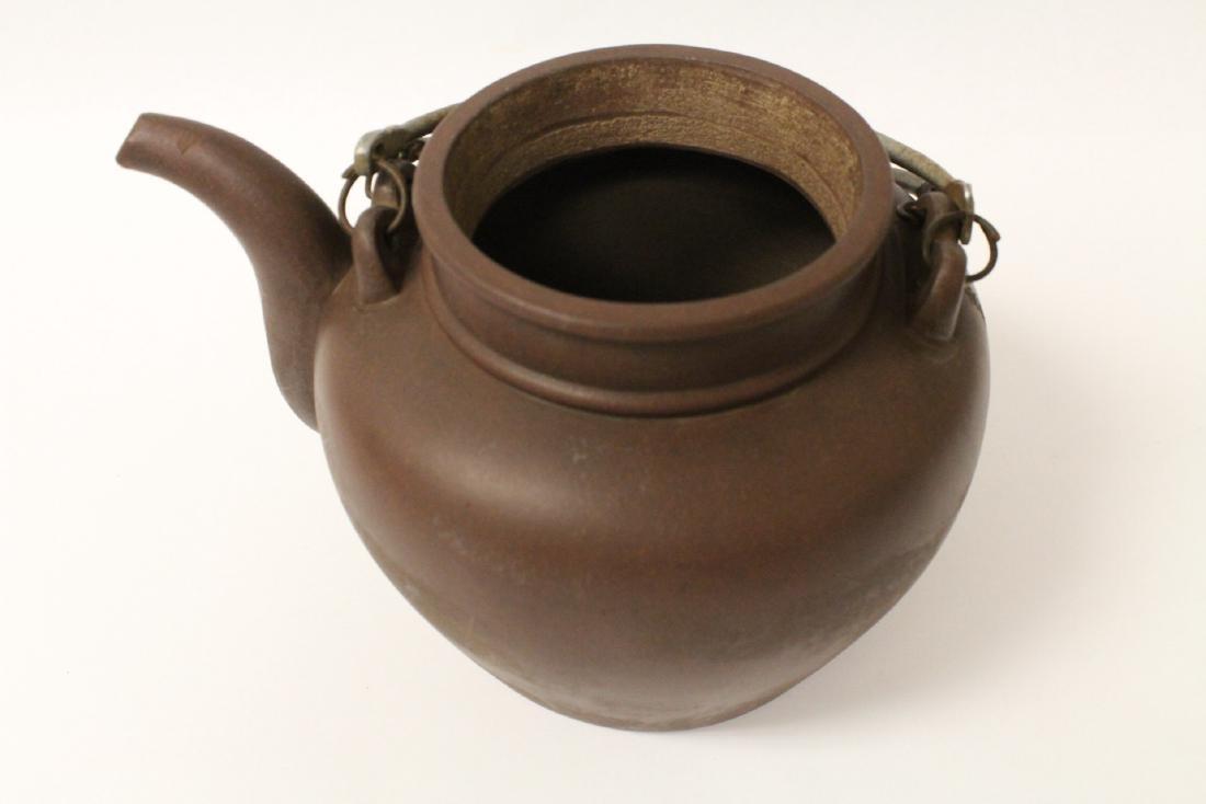 Chinese large Yixing teapot - 7