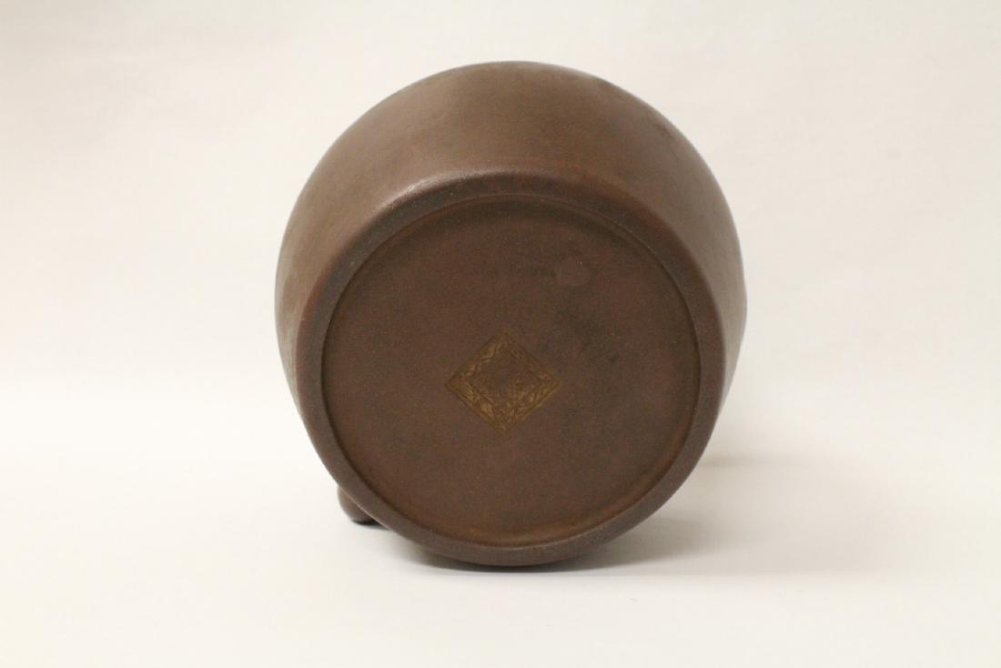 Chinese large Yixing teapot - 8