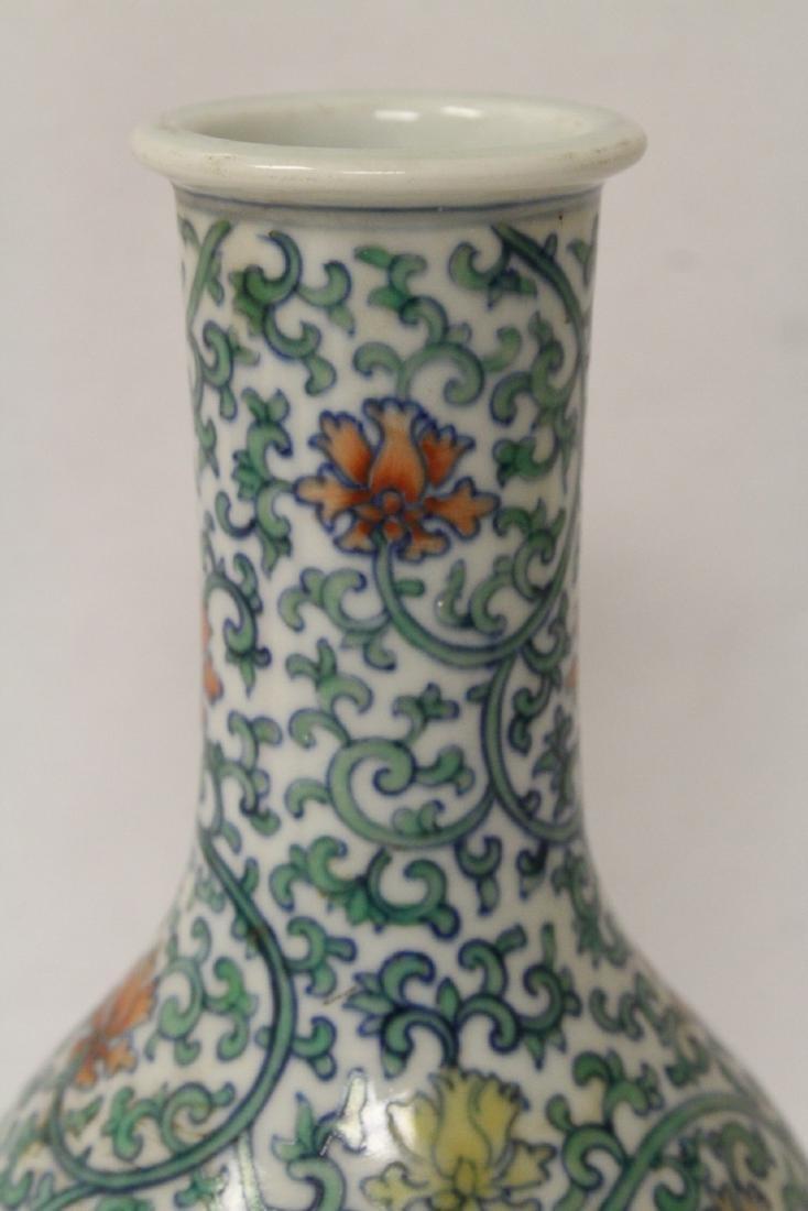 Chinese wucai porcelain vase - 7